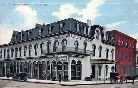 Park Hotel at Winona Minnesota, 1927