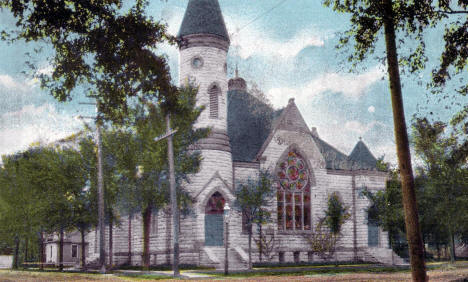 First Baptist Church, Winona Minnesota, 1910's?
