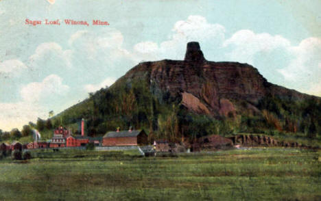 Sugar Loaf, Winona Minnesota, 1908
