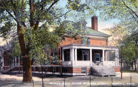 Morey Hall, State Normal School, Winona Minnesota, 1910's