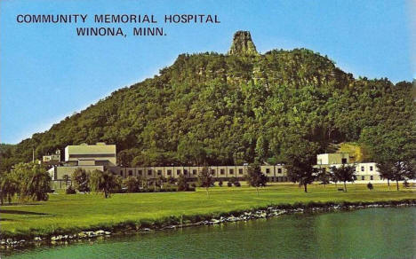 Community Memorial Hospital, Winona Minnesota, 1960's