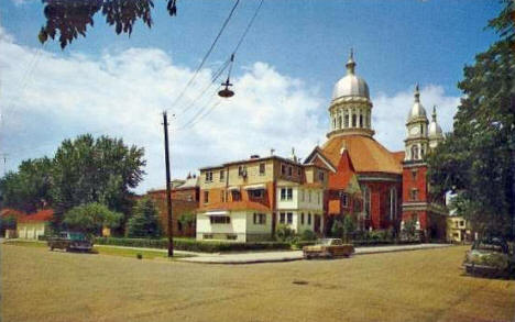 St. Stanislaus Church, Winona Minnesota, 1950's