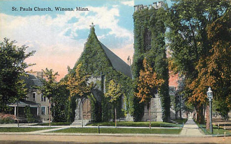 St. Paul's Church, Winona Minnesota, 1910's