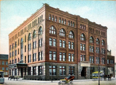 The Winona Hotel, Winona Minnesota, 1908