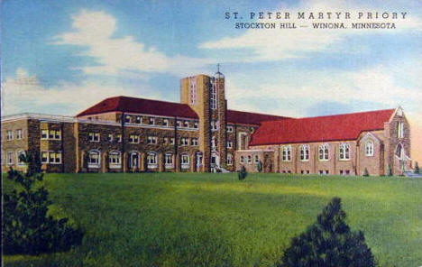 St. Peter Martyr Priory, Winona Minnesota, 1954