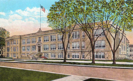 High School, Winona Minnesota, 1930's