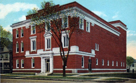 Masonic Temple, Winona Minnesota, 1920's?