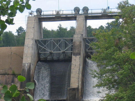 Winton Hydro Electric Dam, Winton Minnesota, 2007