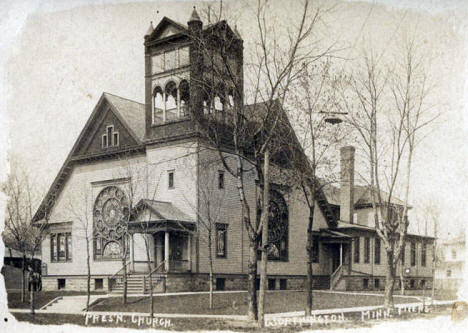 Presbyterian Church, Worthington Minnesota, 1900's