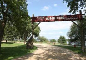 Olson Park and Campground, Worthington Minnesota