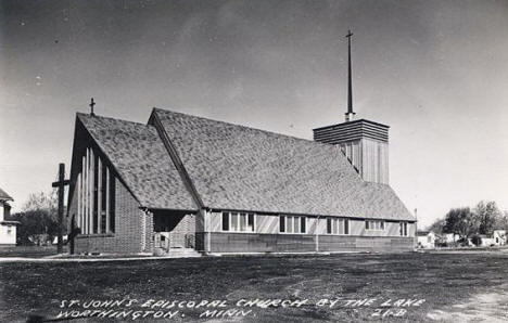 St. John's Episcopal Church, Worthington Minnesota, 1960's?