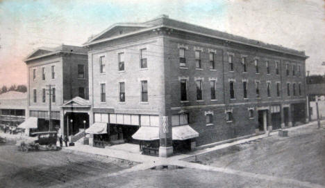 Hotel Thompson, Worthington Minnesota, 1914