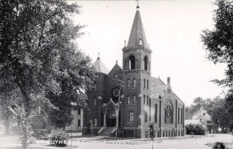 First Lutheran Church, Worthington Minnesota, 1930's