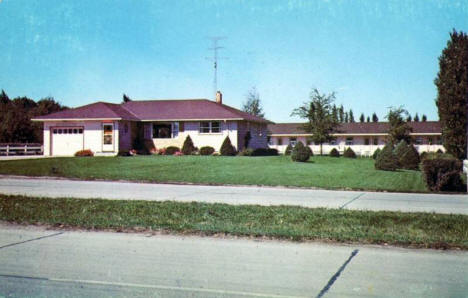 Central Motel, Worthington Minnesota, 1960's?