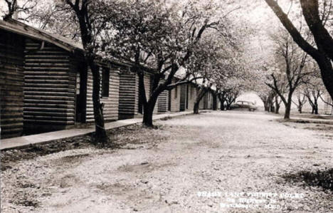 Shady Lane Tourist Camp, Worthington Minnesota, 1940's