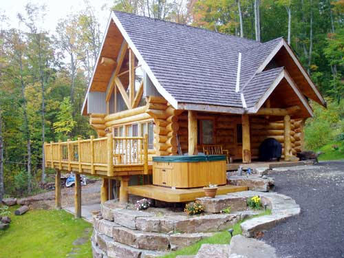 Guide to zimmerman minnesota for Cabin floor plans canada