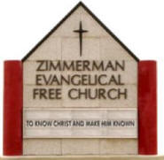 Zimmerman Evangelical Free Church, Zimmerman Minnesota