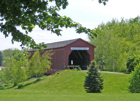 Covered Bridge, Zumbrota Minnesota, 2010