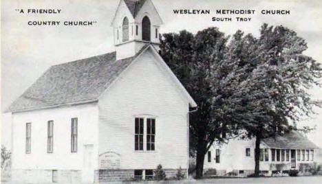 Wesleyan Methodist Church, South Troy - near Zumbro Falls Minnesota, 1940