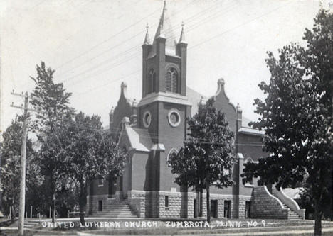 United Lutheran Church, Zumbrota Minnesota, 1940's