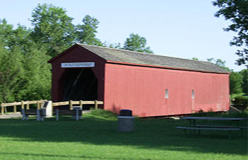 Covered Bridge, Zumbrota Minnesota