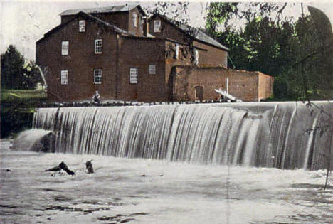 The Old Mill, Zumbrota Minnesota, 1910
