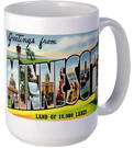 Greetings from Minnesota Coffee Mug