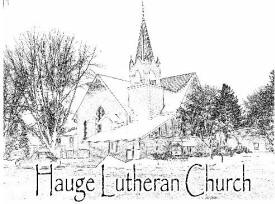 Hauge Lutheran Church, Kenyon Minnesota