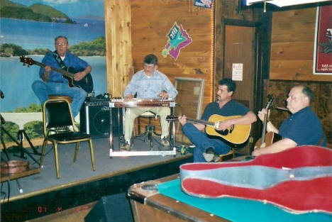 Accoustic Jam Night at Big Guys Bar, Aurora Minnesota, 2003
