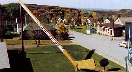 The Big Stick - World's Largest Hockey Stick, in Eveleth Minnesota
