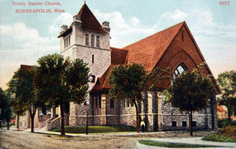 Peoples Church, St. Paul Minnesota, 1907