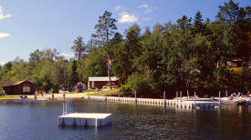 Campbells Lodge on Sand Lake, Deer River, Minnesota.