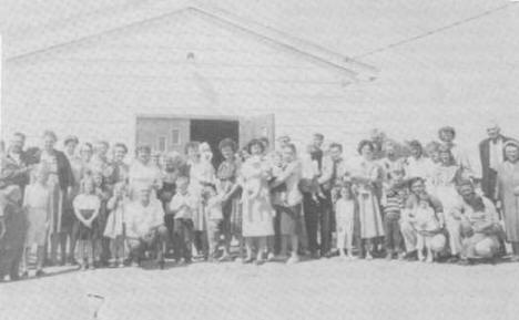 Swatara Community Hall Dedication, 1961