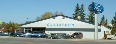 Gustafson Motors on Highway 53 in Cook Minnesota