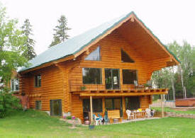 Theisen Log Homes, Wrenshall Minnesota