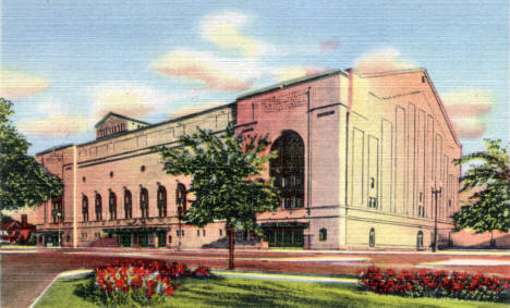 Minneapolis Auditorium, Minneapolis Minnesota, 1944
