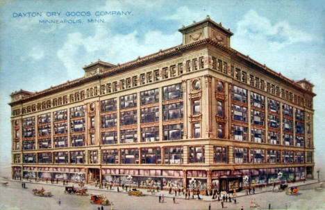 Dayton Dry Goods Company, Minneapolis Minnesota, 1910