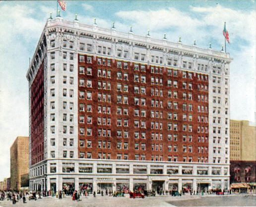 """The New Plymouth Building"", Minneapolis Minnesota, 1910's"