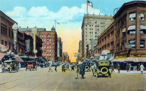 Hennepin Avenue, Minneapolis Minnesota, 1926