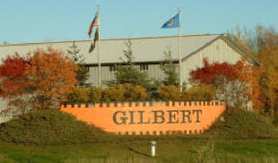 Gilbert Minnesota Welcome Sign