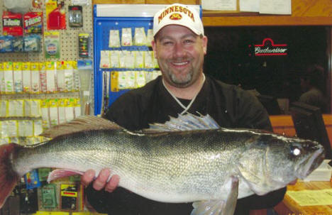 Marc Rynda -  Grand Master Angler Walleye first place, 2006