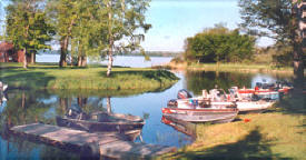 Snug Harbor Resort on Scenic Bowstring Lake - A Minnesota Resort Perfect for Walleye Fishing