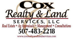 Cox Realty & Land Services, Adrian Minnesota