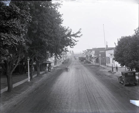 Main Street, Mabel, Minnesota, 1935