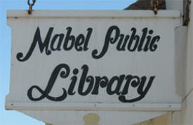 Public Library, Mabel MN