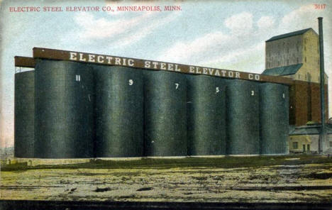 Electric Steel Elevator Company, Minneapolis Minnesota, 1909