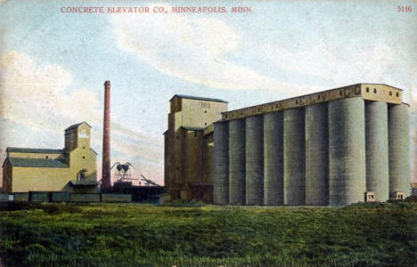 Concrete Elevator Company, Minneapolis Minnesota, 1909