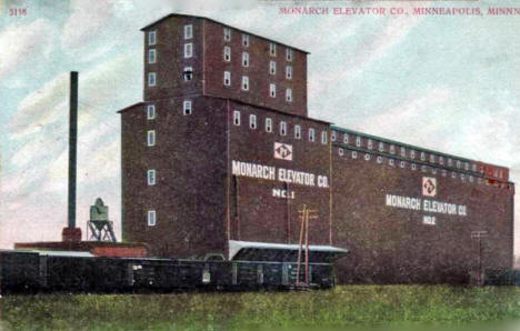 Monarch Elevator Company, Minneapolis Minnesota, 1909