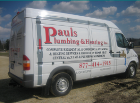 Paul's Plumbing & Heating, Dennison Minnesota