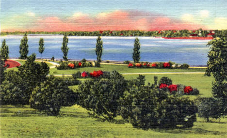 Lake Nokomis Park, Minneapolis Minnesota, 1935